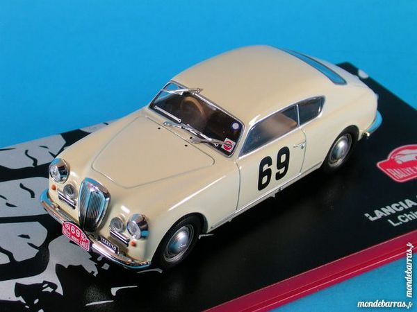 Lancia Aurelia 1er Monte carlo 1954 1/43 Ixo Neuf 18 Guînes (62)