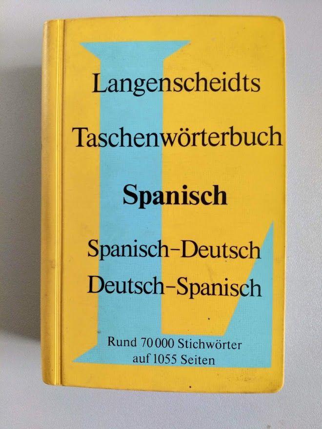 Langenscheidts Tasxchenworterbuch Spanisch / Deutsch - Deuts 7 Saint-Jean (31)