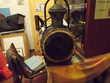 lanterne ferroviaire à pétrole ancienne