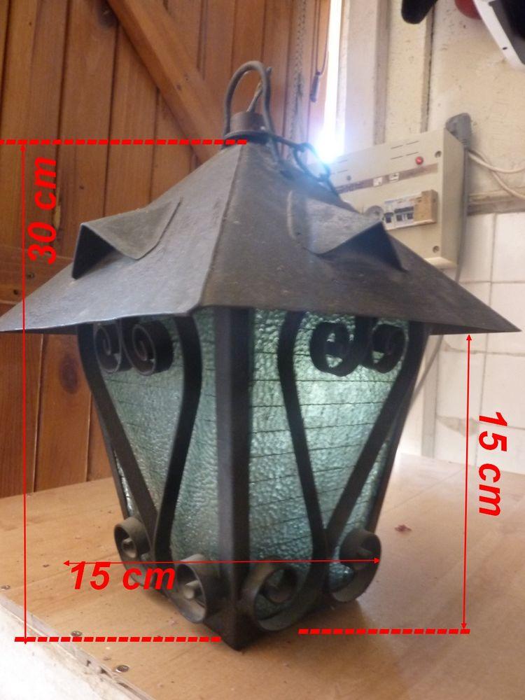 Lanterne fer forgé ancienne 25 Saint-Médard-en-Jalles (33)
