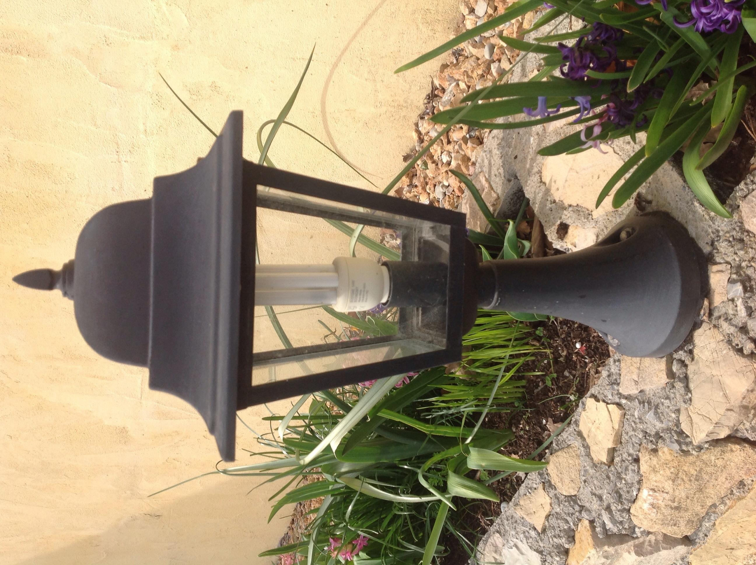 Lanterne de jardin 4 faces 1 Gattières (06)