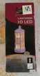 LANTERNE DE NOEL 10 LED ***NEUVE***