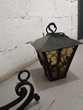 Lanterne + Potence en véritable fer forgé Bricolage