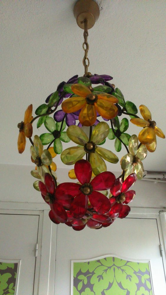Lanterne verre multicolore/Artisanat Murano 90 Toulouse (31)