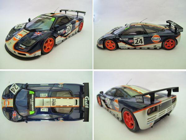 Mc Laren F1 GTR #24, 24H du Mans 1995 UT Model 1/18