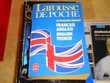 Larousse de poche dictionnaire bilingue Français Anglais