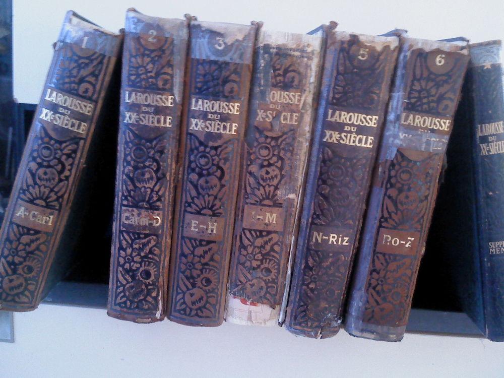 Larousse XX du siècle en 6 volumes  et son supplément 50 Lunel (34)