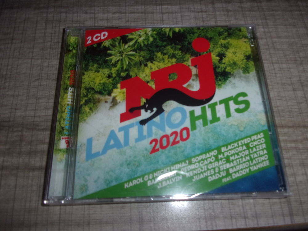 CD NRJ Latino Hits 2020 (Neuf) 9 Ardoix (07)