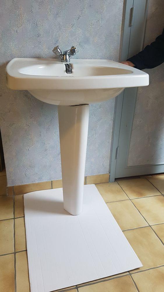lavabo et sa colonne pour salle de bain 0 Roinville (91)
