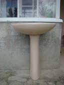 Lavabo sur colonne 0 Plougastel-Daoulas (29)