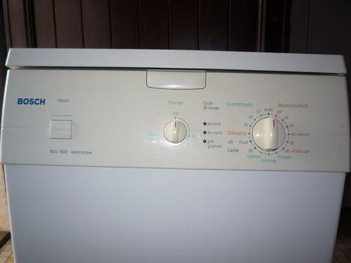 Lave linge Bosch Electroménager