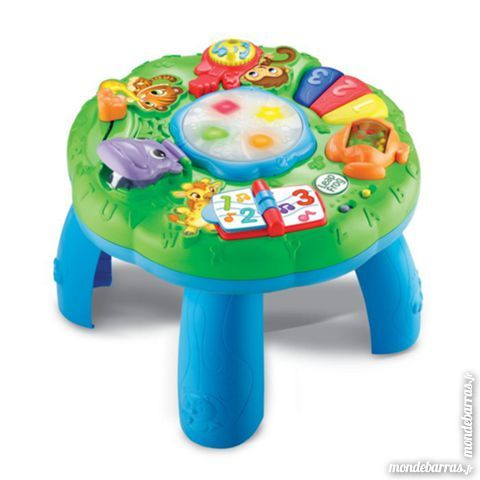 LEAPFROG Table d'Eveil Musicale Des Animaux 15 Faches-Thumesnil (59)