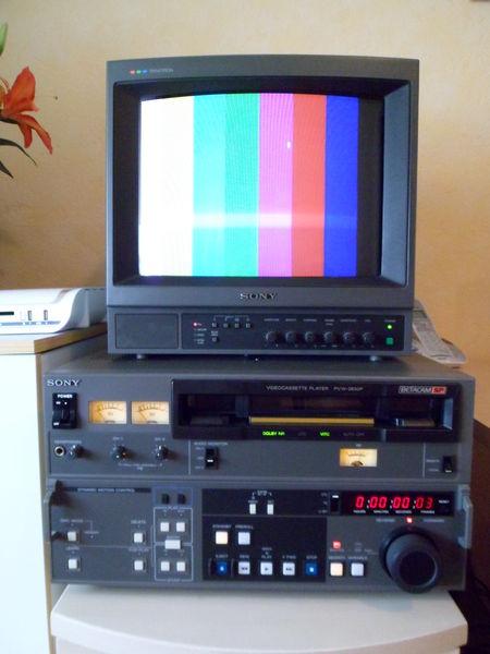 Lecteur Bétacam PVW 2650 P 400 Saint-Quentin (02)