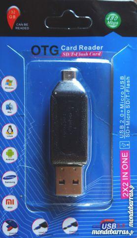 Lecteur de carte SD et micro SD  USB & OTG 10 Narbonne (11)