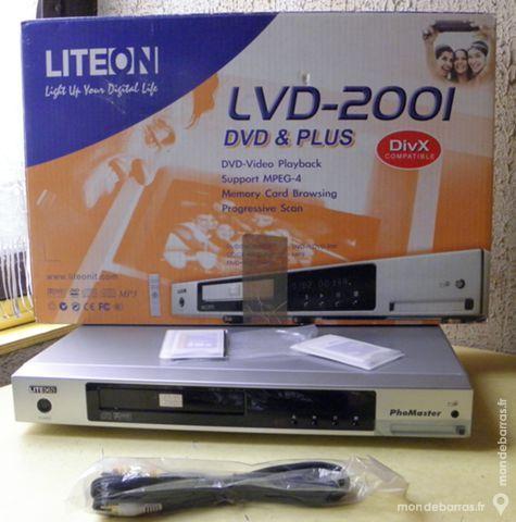 Lecteur Dvd-Divx-Mpg-mp3 LITEON 30 Lyon 4 (69)