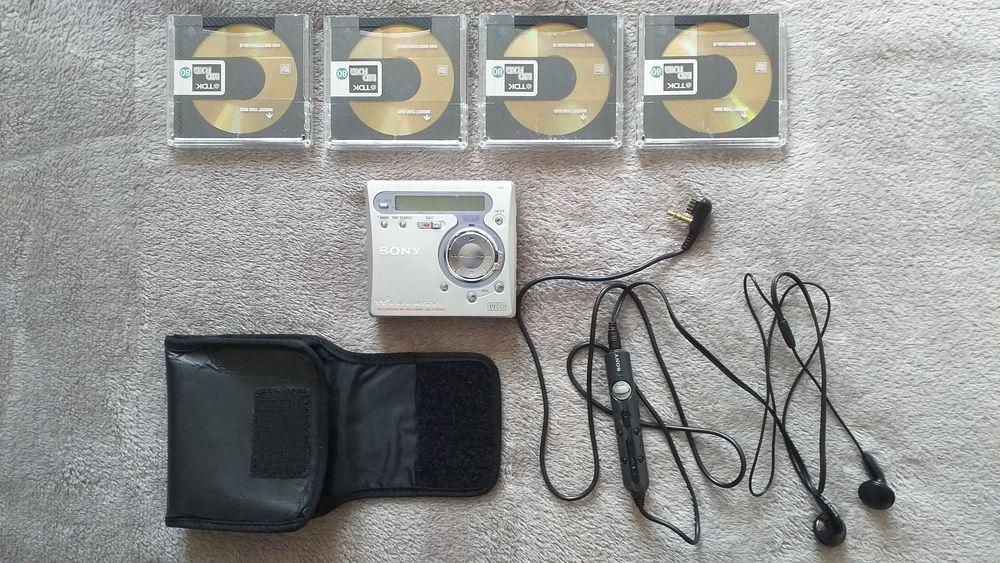Lecteur / Enregistreur de Mini Disc Sony MZ-R700PC  40 Méru (60)