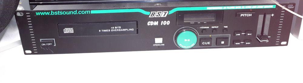 LECTEUR CD  BST cdm 100 30 Serpaize (38)