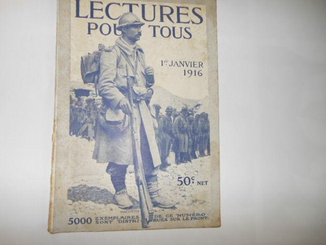 lecture pour tous du 1er janvier 1916 pa81 5 Grézieu-la-Varenne (69)