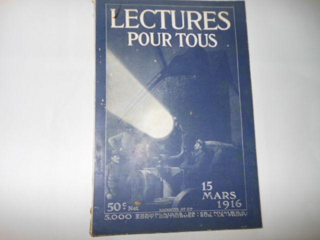 lecture pour tous du 15 mars 1916 pa82 5 Grézieu-la-Varenne (69)