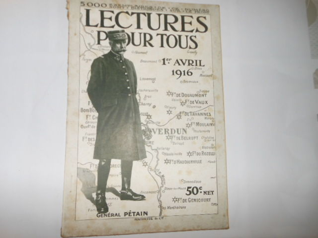lecture pour tous du 1er avril 1916 pa82 5 Grézieu-la-Varenne (69)