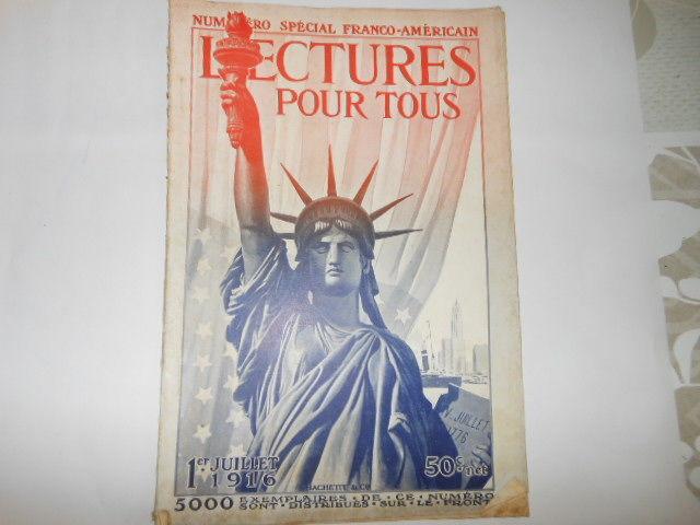 lecture pour tous du 1er juillet 1916 pa82 5 Grézieu-la-Varenne (69)