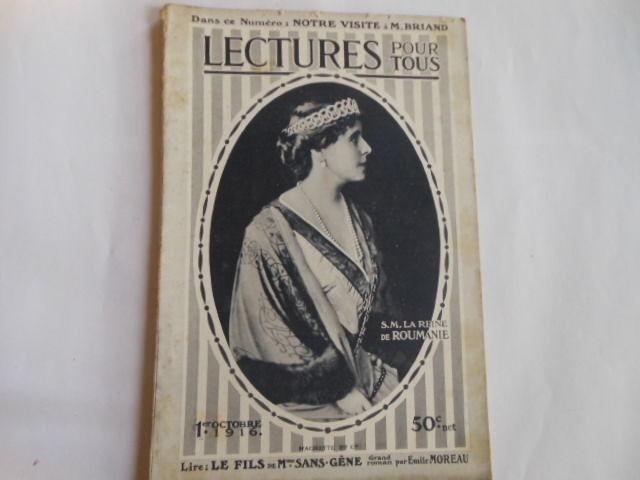 lecture pour tous du 1er octobre 1916 pa82 5 Grézieu-la-Varenne (69)
