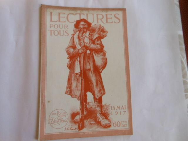 lecture pour tous du 15 mai 1917 pa83 5 Grézieu-la-Varenne (69)