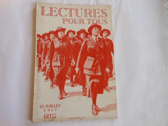 lecture pour tous du 15 juillet 1917 pa82 5 Grézieu-la-Varenne (69)
