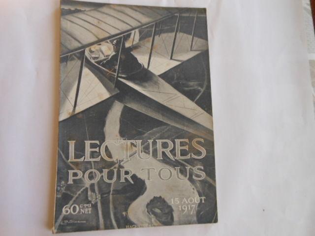 lecture pour tous du 15 aout 1917 pa82 5 Grézieu-la-Varenne (69)