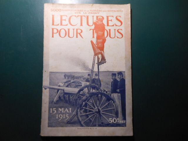 lecture pour tous du 15 mai 1915 pa91 5 Grézieu-la-Varenne (69)