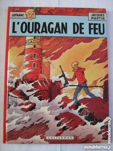 BD E O - LEFRANC - L ' OURAGAN DE FEU Livres et BD