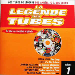 cd La Légende Des Tubes Volume 1(etat neuf) 3 Martigues (13)