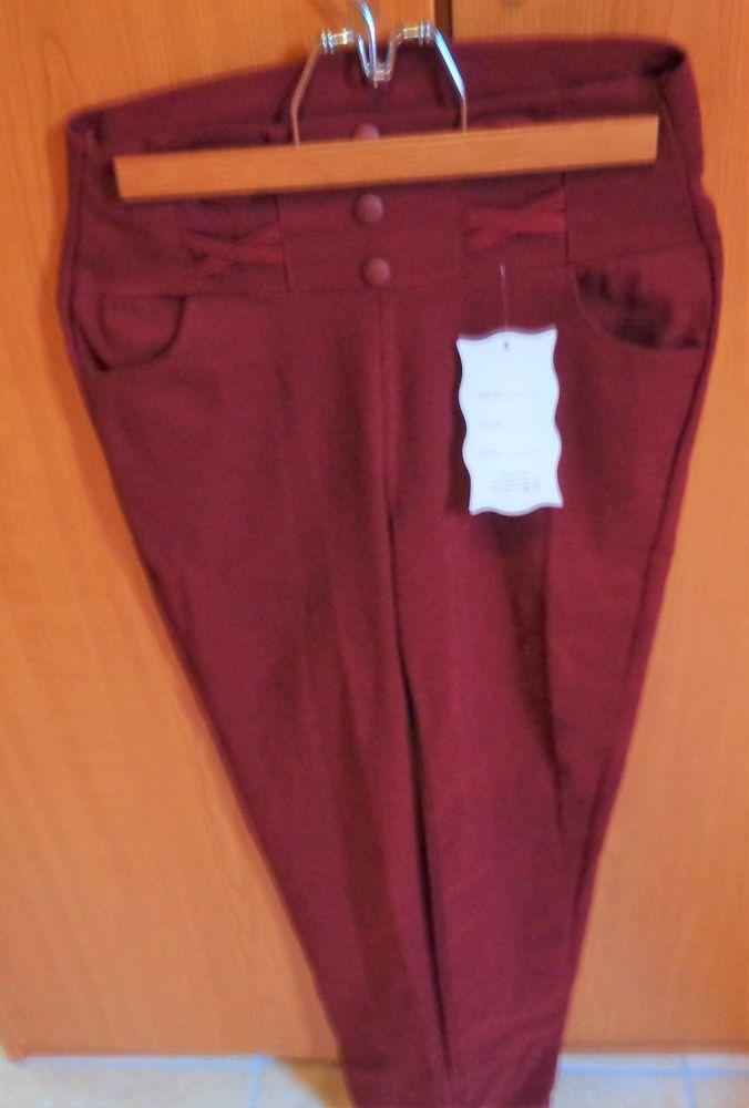 legging  bordeaux  neuf étiquette t40 17 Argenteuil (95)
