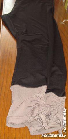 legging j-riu noir bas marron fronce t4 9 Argenteuil (95)