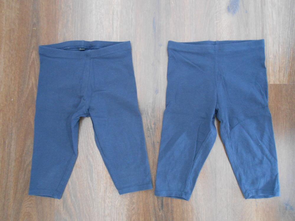 Lot de 2 leggings courts bleu marine fille 4 ans TBE 3 Aurillac (15)