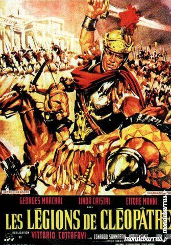 K7 Vhs: Les Légions de Cléopâtre (371) DVD et blu-ray