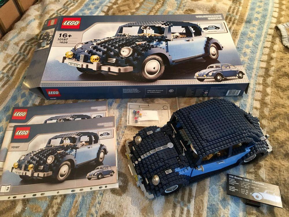 Lego 10187 VW Beetle complet avec boîte et notice 499 Larroque (31)