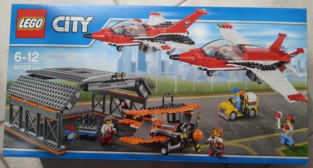 Lego 60103 Le spectacle aérien Jeux / jouets