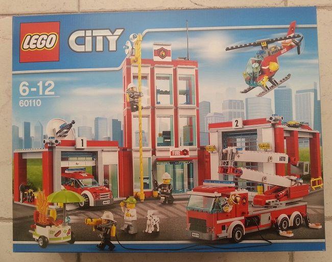 Lego 60110 La caserne des pompiers 112 Orléans (45)