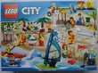 Lego 60153 Ensemble de figurines LEGO City - La plage