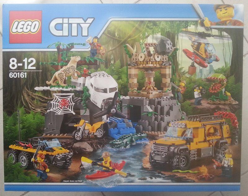 Lego 60161 Le site d'exploration de la jungle Jeux / jouets