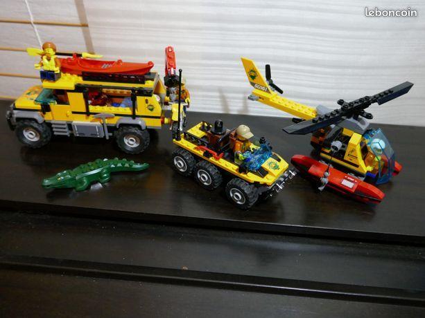 Lego 60161 site d'exploration de la jungle city, avec notice 50 Annecy (74)