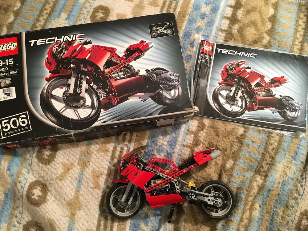 Lego 8420 Superbike complet avec boîte et notice RARE 139 Larroque (31)