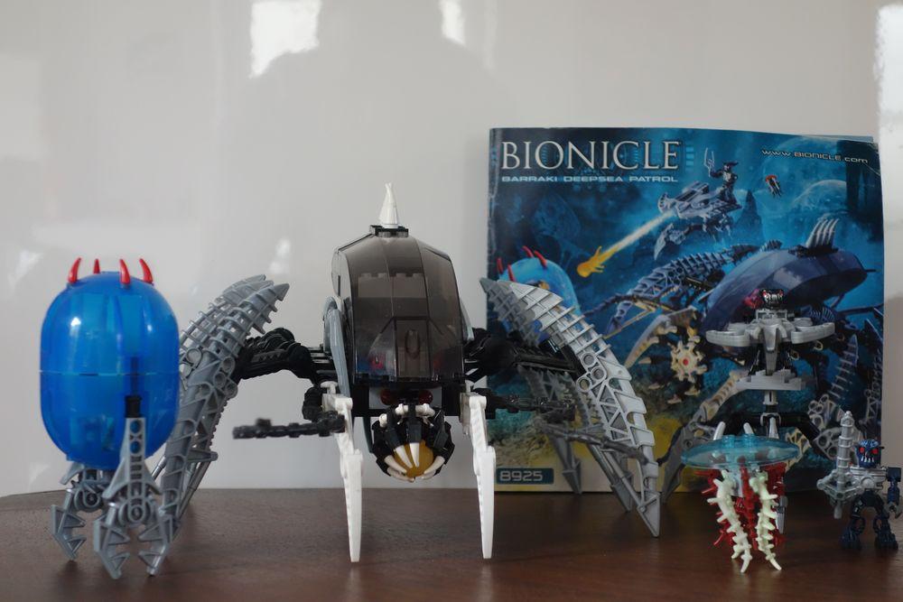 Lego-Bionicle-8925-Barraki-Deepsea-Patrol 30 Saint-Maur-des-Fossés (94)