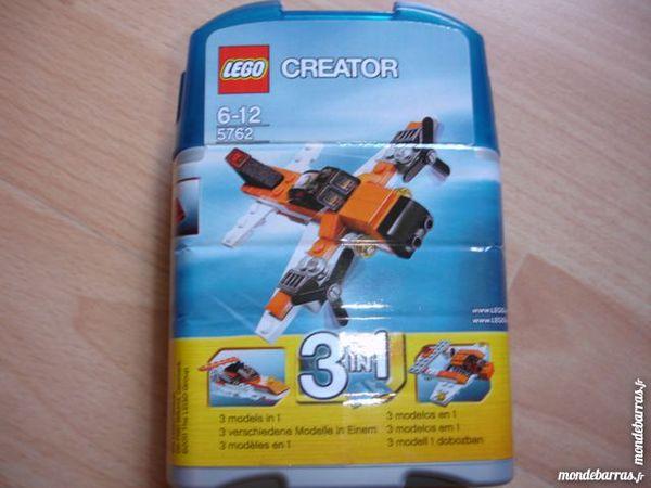 Lego Creator 5762 3en1 mini avion bateau orange Jeux / jouets