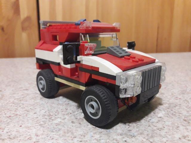 LEGO Creator 5867 - La Voiture de Rallye ou voiture Blindée 10 Cléon-d'Andran (26)