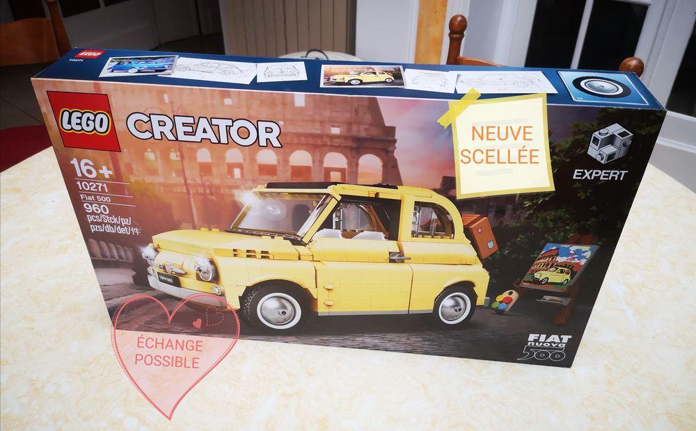 Lego Creator expert 10271 Fiat 500 99 Hazebrouck (59)