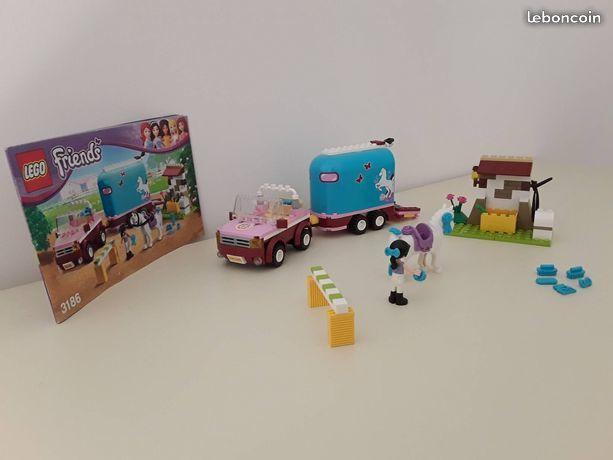 LEGO FRIENDS  LA REMORQUE A CHEVAUX  D'EMMA TBE 10 Cressanges (03)