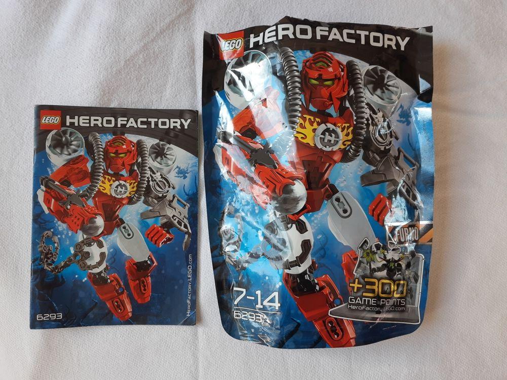 Lego Hero Factory Rouge 12 Grenoble (38)
