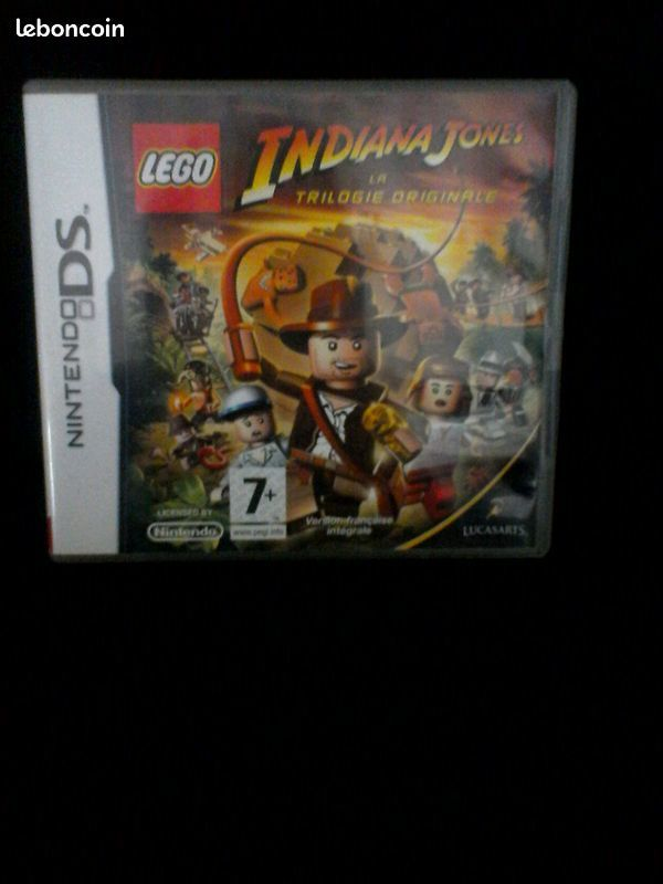 JEU LEGO INDIANA JONES LA TRILOGIE NITENDO DS (RMP à Paris) 10 Brunoy (91)